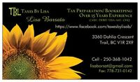 Personal Income Tax Preparation/ Small Business Payroll Services