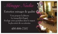 Ménage Nadia (Blainville, Mirabel, Ste-Therese...)