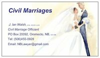 Officiant - Civil  Marriages / Civil Weddings