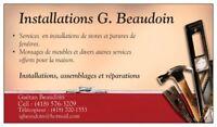 BESOIN D'AIDE POUR VOS PETITS TRAVAUX?!?!