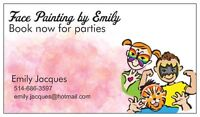 Face Painting for events and parties !!