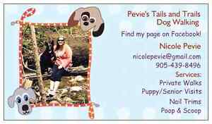 Pevie's Tails and Trails is now offering group walks!!