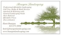 TREE ,HEDGE & SHRUB SERVICES (BOURGON LANDSCAPING)