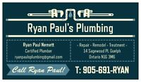 Ryan Paul's Plumbing - Repair & Remodel