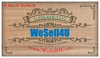 WeSell4U Consignment Company..We Sell Your Stuff For U.