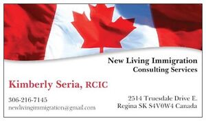 New Living Immigration Consulting Services Accepting New Clients Regina Regina Area image 1