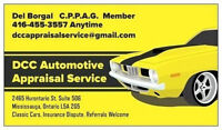 APPRAISAL AUTO CAR TRUCK VEHICLE FOR INS