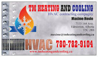 Heating - Ventilation - Air Conditioning - Edmonton and area