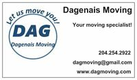 DAGENAIS MOVING 204-254-2922