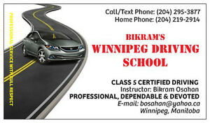 Winnipeg Driving Lessons