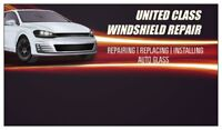 United Class Windshield Repair & Replacement