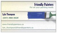 FOR ALL YOUR PAINTING NEEDS.....FRIENDLYPAINTERS.CA