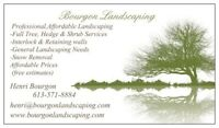 LAWN AERATING (BOURGON LANDSCAPING)