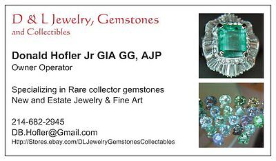 D&L Jewelry Gemstones collectibles
