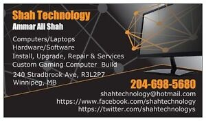 Computers/Laptops ON-SITE Install, Upgrade, Repair and Services