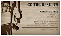 CC THE RESULTS handyman with over 25 years experience