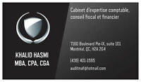 Cabinet expertise comptable CPA