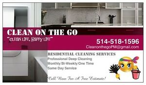 Clean On The Go cleaning services. Call Now for a Free Estimate! West Island Greater Montréal image 2