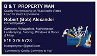 B & T Property Man.