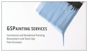 Need A Painter? GSPainting Services! Top Quality & GreatPrices!