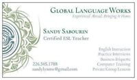 Experienced Teacher & Affordable ESL/Business Training!