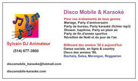 DISCOMOBILE & KARAOKÉ POUR VOS PARTY'S