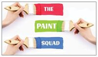 Want Painting?  Get the Paint Squad!
