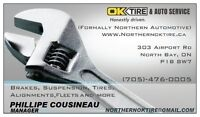 Tire Installers Wanted