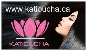 """Clip in hair extension,Straight hair,24"""",60 cm, FUSCHIA OMBRE Regina Regina Area image 10"""
