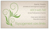 Expert  Entretiens Paysagers  --  landscaping Experts