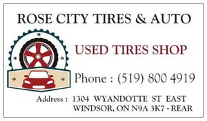 """sets of 14"""" & 15"""" Winter & All seasons Used Tires"""