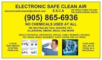 WE REMOVE STINK, MUST, MOLD, FLEAS, PET SMELLS AND MORE