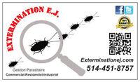 Extermination E.J. 514-451-8757