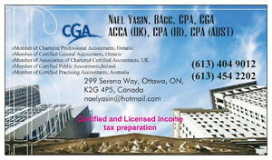 Professional Income Tax Preparer (EFILE Tax Preparation) Ottawa Ottawa / Gatineau Area image 2