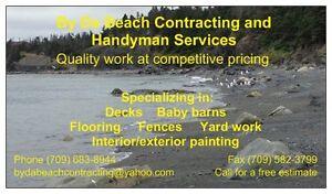 By Da Beach Handyman Services St. John's Newfoundland image 1