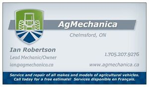 AgMechanica - Agricultural tractor service and repair