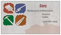 maintenance  gary et ginnette