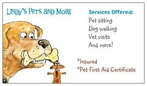 Pet Sitting/Dog Walking-Servicing Collingwood,Wasaga Beach area