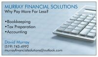 Bookkeeping, Accounting + Tax Preparation
