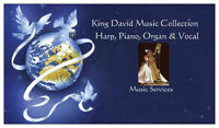 Harp playing for your events