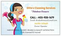 "DiVa's Cleaning Services!Available  24/7 ""Licensed @ Insured"""