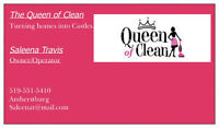 Queen of Clean - Cleaning and Organizing at its best!