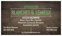 Construction Blanchet et Lemieux inc.