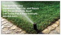 Irrigation Start Ups Repairs, Installation, and Extentions