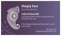 In home foot care services - Eastern Shore