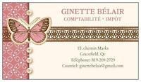 COMPTABILITÉ-IMPÔT * GINETTE BÉLAIR