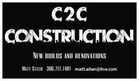 C2C CONSTRUCTION JOURNEYMAN CARPENTER OWNED AND OPERATED