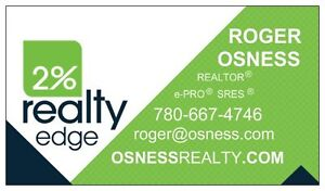 ROGER OSNESS - 2% REALTY EDGE AB