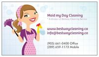 'MAID MY DAY' RELIABLE and EFFICIENT HOUSE CLEANING SERVICE