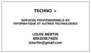 Techno+ Computer Repair Services de Réparation Informatique Gatineau Ottawa / Gatineau Area image 3